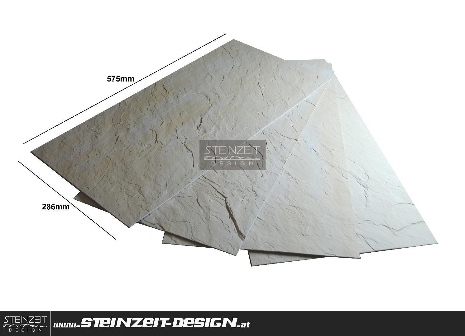 Steinzeit Design Slate Sunny 052056 Creme Beige Flex Schiefer